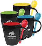12oz Bistro Ceramic Mugs